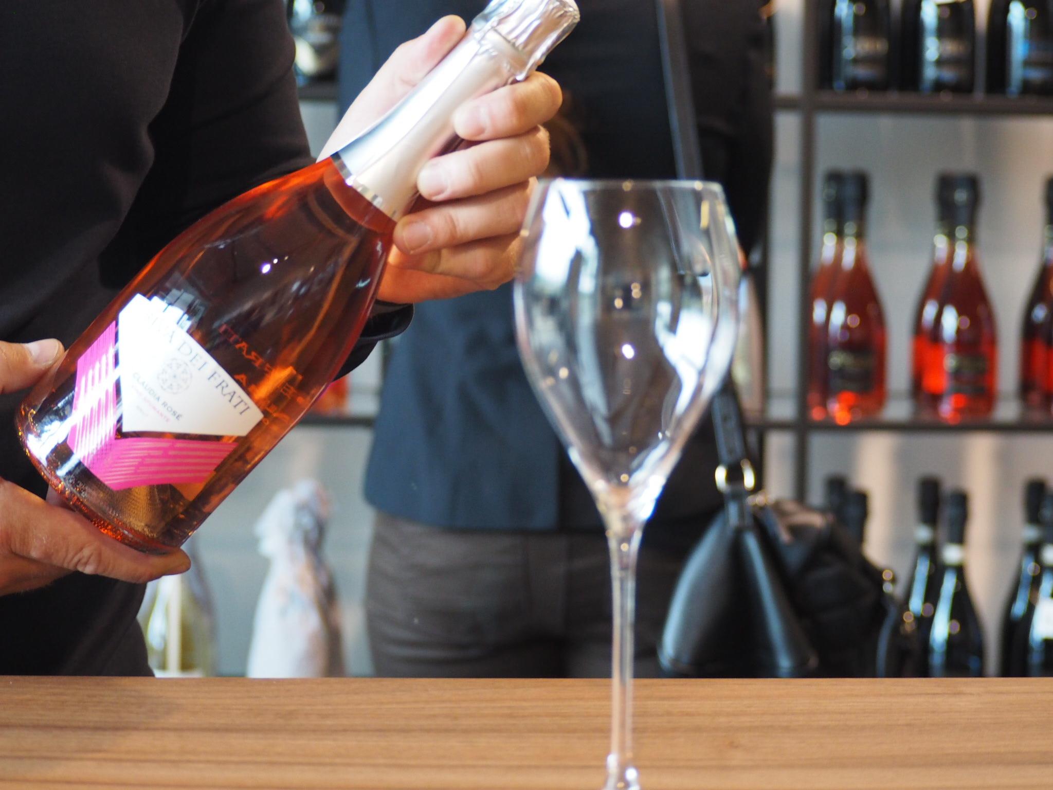Zásoby vína Prosecco